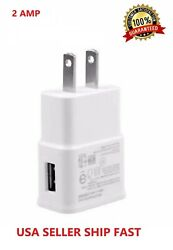 2AMP USB POWER ADAPTER WALL CHARGER For Universal SAMSUNG GALAXY S Note $3.99