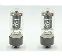 NEW NESSTONE 6L6GC Matched **PAIR** Tubes 6L6 5881 Valves-Sweet Tube Tone-Tested