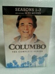 Columbo: The Complete Series (DVD 2012 34-Disc Set) all 69 episodes+24 movies