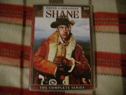 Shane: The Complete Series DVD