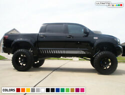 Decal Sticker Vinyl Side Stripes for Toyota Tundra Off-Road 2007-2017 Flare lift