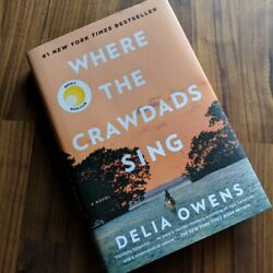 Where the Crawdads Sing Hardcover – August 14 2018 ( Brand New Free Shipping )