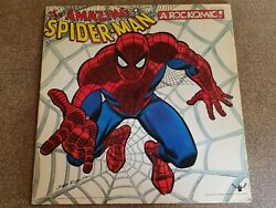 A Rockomic The Amazing Spider-Man From Beyond the Grave LP Vinyl VG+ *READ