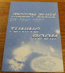 OTTO Backstage Concert Door Sign THE MOODY BLUES 1997 UK Tour TUNING ROOM