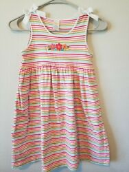 Gymboree 8 Tropical Garden Striped Dress NWOT Girl Summer Clothes