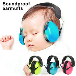 Baby Kids Hearing Protection Ear Muffs Cover Noise Cancelling Earmuffs Sleeping