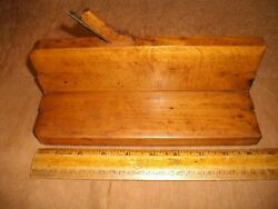 Q862 Antique Wooden Wood Molding Plane Copeland & CO. Custom Factory Made