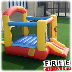 Inflatable Bounce House Slide Bouncer Commercial Yard Outdoor Center Playground