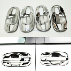 8Pcsset Car Door Handle Cup Bowl Cover Trim Sticker For Toyota Sienna 2011-2019