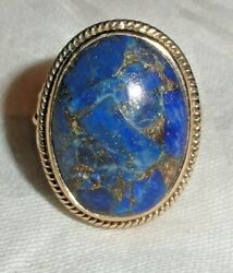 Old Beauty! Nicky Butler Lapis Ring Size 9 from Old Estate