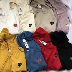 NEW Comme Men&women CDG Play red heart 8 colour Hoodies & Sweatshirts