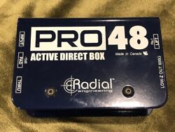 Radial Engineering Pro 48 Active Direct Box
