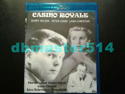 Casino Royale 1954 BD-R Blu-ray VERY RARE Barry Nelson Manufactured On Demand