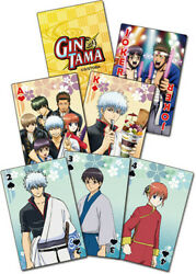 Gintama S3 - Group Playing Cards (Game Misc Used Very Good)
