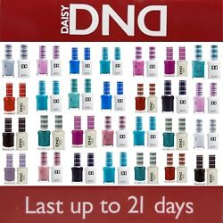 DND 400 - 640Daisy Soak Off Gel Polish Pick Your Color .5oz LEDUV $219.99
