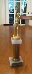 1957 Model Airplane Vintage rare trophy RIDA Aircraft Carrier first place $24.95