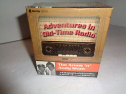 The Amos 'N' Andy Show Adventures in Old Time Radio 6 Cassette Box Set Sealed