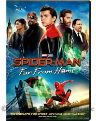 SPIDERMAN-FAR FROM HOME- DVD - Brand New Factory ***AUTHENTIC*** SHIPS NOW