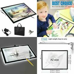 LED Light Box Tracer 12V Ultra Bright Dimmable Tattoo Sketching Tracing Art Pad