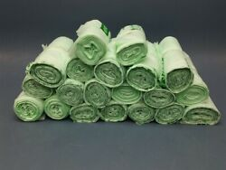 Lot of 20 Rolls of Nature Bag Compostable Trash Bags 35 Gal. 34quot; x 48quot; x 0.9mil $275.00