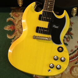 Gibson CS Japan Limited Run SG Special Bright TV Yellow w  Bolivian Rosewood