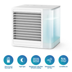 Personal Portable Mini AC Air Conditioner Cooling Air Fan Humidifier Purifier $54.95