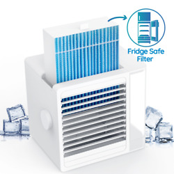 Personal  used Portable Mini Air Conditioner Cooling Air Fan Humidifier Purifier $25.95