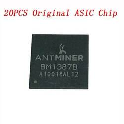 20pcs Original ASIC Chip Replacement For Antminer BM1387 BM1387B S9 T9 T9+ S9I