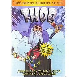 The Mighty Thor 1966 Complete Animated Series DVD Free USA Shipping