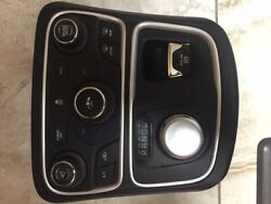 2015-2017 Chrysler 200 Bezel w AC climate control switch and Gear Selector