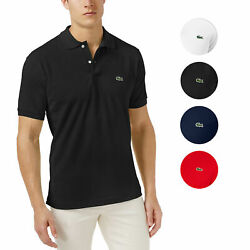 Lacoste Men's Classic Pique Cotton Slim-Fit Polo Shirt $64.95