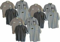 Used Work Shirts Lot of 8 Grade B Long or Short Sleeve - Free Shipping