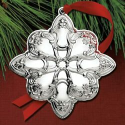 2019 Gorham Chantilly Star 12th Ed Sterling Ornament NEW Authorized Dealer $79.94