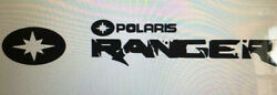 POLARIS RANGER DECAL STICKER BUY 1 GET 1 FREE DECALS A MUST HAVE