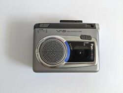Panasonic RQ-L30 Handheld Cassette RecorderPlayer Voice Activated System Works