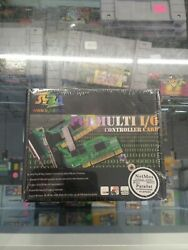 PCI Multi I O Parallel Hi Speed Low Profile Controller Card new package vintage $10.39