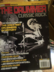 quot;THE DRUMMERquot; MAGAZINE CLASSIC ROCK COLLECTOR#x27;S EDITION $5.88