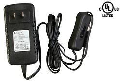 UL listed 12V 24w AC ADAPTER 2A Class 2 + onoff switch for LED STRIP MODULE $12.99