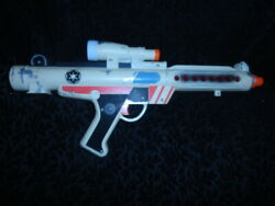 Star Wars White Stormtrooper Electronic Blaster Gun Cosplay Halloween - Works!