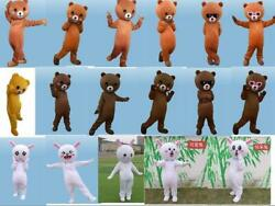 Funny Expression Bear Mascot Halloween Costume Suits NEW ** Game Dress