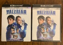 Valerian and The City of a Thousand Planets (4K+BLU-RAY+DIGITAL) New Wslipcover