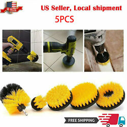 Drill Brush Power Brush Scrubber Cleaning Kit Attachments 5 Pieces All Purpose $16.99