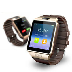 Bluetooth Smart Watch For Samsung iPhone HTC LG Android IOS Wrist GSM SIM Phone