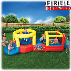 Inflatable Bounce House Bouncer Blower Yard Outdoor Playground Activity Center