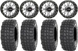 System 3 ST 3 Machined 14quot; Wheels 32quot; X COMP Tires Honda Pioneer 1000 Talon $1411.08