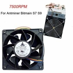 Factory Price 7500RPM Cooling Fan Replacement 4-pin Connector For Antminer