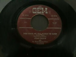 JOAN SHAW with THE BLUES EXPRESS ORCH - DO WHAT YOU WANT WITH ME.GEM BLUES 45