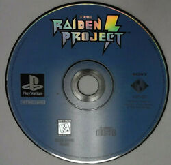 Game only Raiden Project (Sony PlayStation 1 1996)