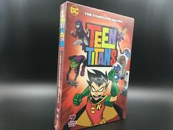 Teen Titans The Complete Series 7 Disc DVD Set *FREE SHIPPING*