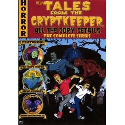 Tales from the Cryptkeeper Complete Animated Series Unreleased 3 DVD Set.